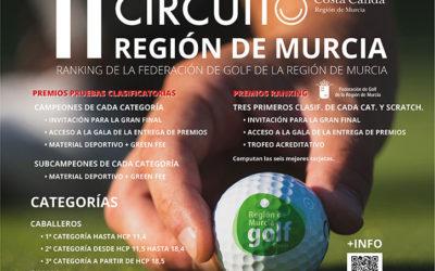 II Circuito de Golf Región de Murcia. La unión hace la fuerza. AEGOLF+FGRM+ITREM